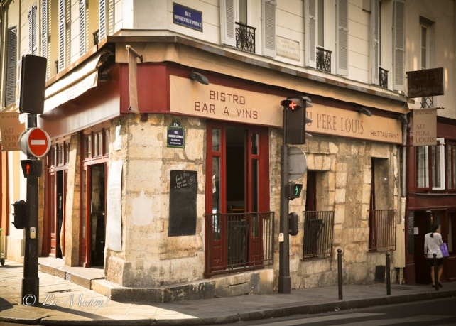 Wine Bar in Paris: Au pere Louis