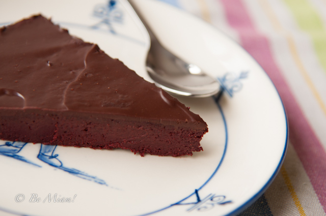 Chocolate and beetroot cake-2