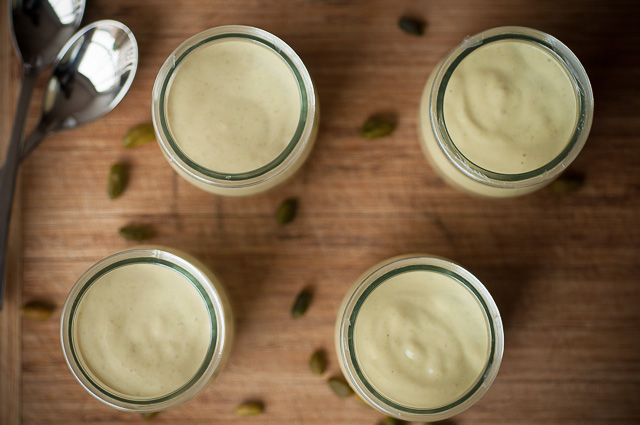 pistacchio yogurt