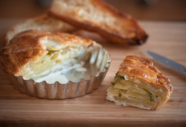 Savory potato pie by Cecile K. | Epicurious Community Table