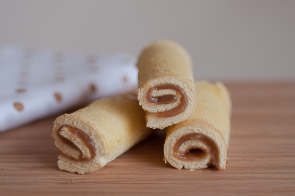 Chestnuts mini roll cake