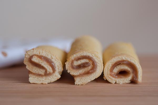 Chestnuts mini roll cake 1