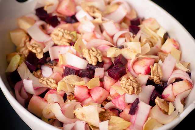 winter beetroot salad